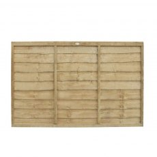 4ft High (1220mm) Forest Trade Lap Panel - Pressure Treated