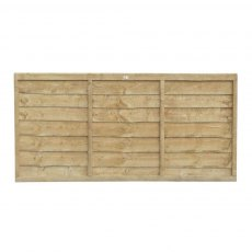 3ft High (910mm) Forest Trade Lap Panel - Pressure Treated