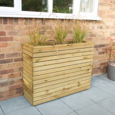 Forest Tall Linear Planter - Pressure Treated