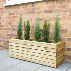 Forest Linear Planter - Long - Pressure Treated - 3ft 11in