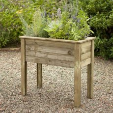 Forest Bamburgh Planter Table  - Pressure Treated - 3ft 3in
