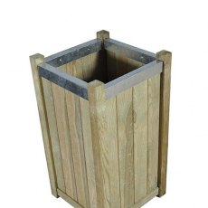 Forest Slender Planter - Small - Pressure Treated - isolated view from above