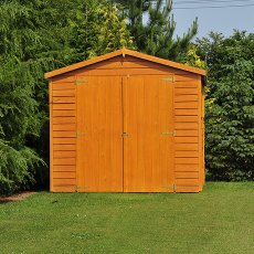 20 x 10 (6.05m x 2.99m) Shire Overlap Workshop Shed with Double Doors - Windowless