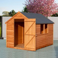 8 x 6 (2.40m x 1.83m) Shire Value Overlap Shed