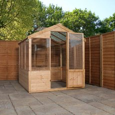 8 x 6 (2.36m x 1.86m) Mercia Traditional Greenhouse