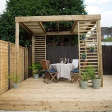 Forest Dining Pergola -  Pressure Treated