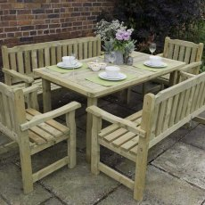 Forest Rosedene Table - Pressure Treated