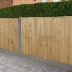 3ft High Forest Featheredge Fence Panel - Pressure Treated