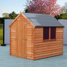 7 x 5 (2.13m x 1.77m) Shire Value Overlap Shed