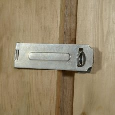 6x4 Forest Overlap Reverse Apex - Pressure Treated - hasp and staple latch