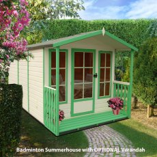 7 x 10 Shire Badminton Summerhouse - with optional verandah