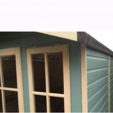 7 x 10 Shire Badminton Summerhouse - close up of windows