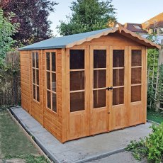 7 x 10 (2.17m x 3.36m) Shire Kensington Summerhouse