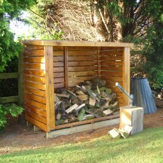 6 x 3 (1.90m x 0.93m) Shire Large Heavy Duty Log Store