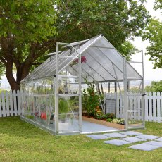 8 x 12 Palram Balance Greenhouse in Silver