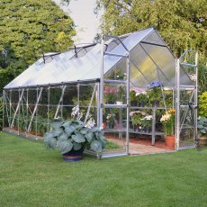 8 x 16 Palram Balance Greenhouse in Silver