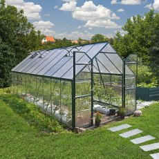8 x 20 Palram Balance Greenhouse in Green