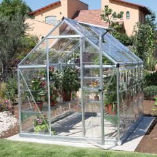 6 x 8 Palram Harmony Greenhouse in Silver