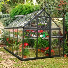 6 x 10 Palram Harmony Greenhouse in Grey