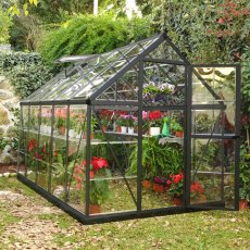 6 x 10 Palram Harmony Greenhouse in Grey - in situ