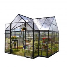 12 x 10 Palram Victory Orangery Garden Chalet - isolated view
