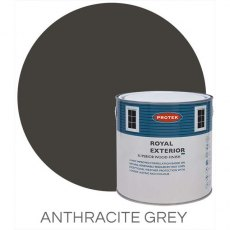 Protek Royal Exterior Paint 2.5 Litres - Anthracite Grey