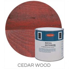 Protek Royal Exterior Paint 2.5 Litres - Cedar Wood