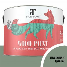 Thorndown Wood Paint 2.5 Litres - Bullrush Green - Pot shot