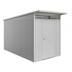 6 x 12 (1.80m x 3.80m) Biohort AvantGarde A4 Metal Shed - Single Door