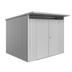 8 x 8 (2.60m x 2.60m) Biohort AvantGarde A6 Metal Shed - Double Door