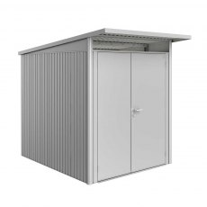 6 x 8 (1.80m x 2.60m) Biohort AvantGarde A2 Metal Shed - Double Door