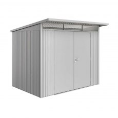 8 x 7 (2.60m x 2.20m) Biohort AvantGarde A5 Metal Shed - Double Door