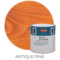 Protek Royal Exterior Paint 1 Litre - Antique Pine