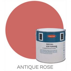 Protek Royal Exterior Paint 1 Litre - Antique Rose