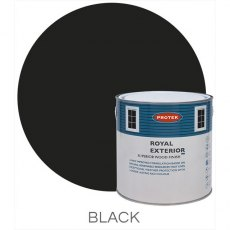 Protek Royal Exterior Paint 1 Litre - Black
