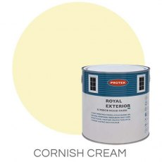 Protek Royal Exterior Paint 1 Litre - Cornish Cream