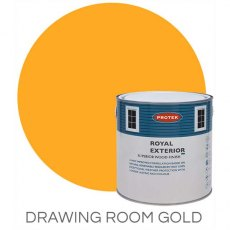 Protek Royal Exterior Paint 1 Litre - Drawing Room Gold