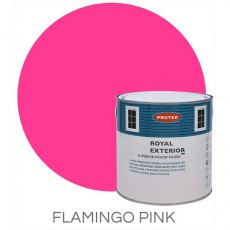 Protek Royal Exterior Paint 1 Litre - Flamingo Pink