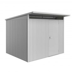 8 x 8 (2.60m x 2.60m) Biohort AvantGarde A6 Metal Shed - Single Door