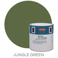 Protek Royal Exterior Paint 1 Litre - Jungle Green