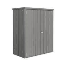 5 x 3 (1.55m x 0.83m) Biohort Equipment Locker 150 - Quartz Grey