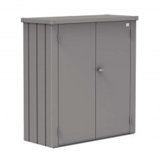 Biohort Patio Romeo Locker - Medium - Metallic Quartz Grey