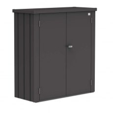 Biohort Patio Romeo Locker - Medium - Metallic Dark Grey