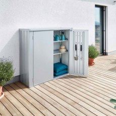 Biohort Patio Romeo Locker - Medium - In Situ