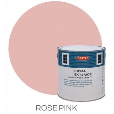 Protek Royal Exterior Paint 1 Litre - Rose Pink