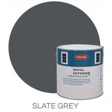 Protek Royal Exterior Paint 1 Litre - Slate Grey