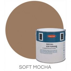Protek Royal Exterior Paint 1 Litre - Soft Mocha