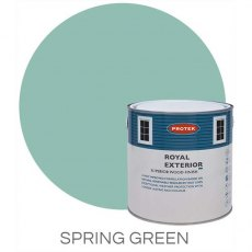 Protek Royal Exterior Paint 1 Litre - Spring Green