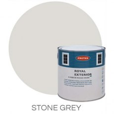 Protek Royal Exterior Paint 1 Litre - Stone Grey