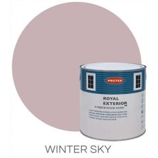 Protek Royal Exterior Paint 1 Litre - Winter Sky